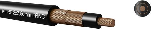 Kabeltronik 55H125000 Luidsprekerkabel 2 x 2.50 mm² Zwart Per meter