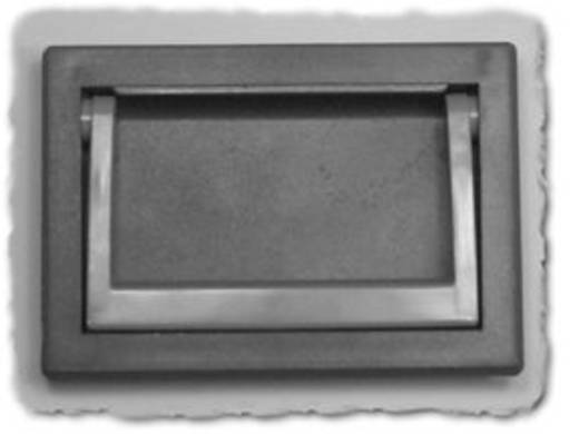 Hammond Electronics M263-1 Klaphandvat Zwart (l x b x h) 130.5 x 20.66 x 91.5 mm 1 stuks