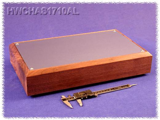 Hammond Electronics HWCHAS1710AL Bodemplaat 432 x 254 x 76 Aluminium Naturel 1 stuks