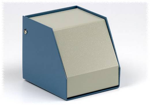 Hammond Electronics SCEM251414WH Instrumentbehuizing 140 x 254 x 140 Aluminium Blauw, Grijs 1 stuks