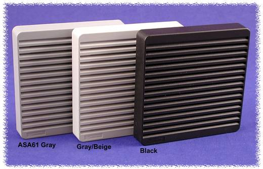 Hammond Electronics XPFA120GY Luchtfilterset ABS Grijs (l x b x h) 105 x 105 x 15 mm 1 stuks