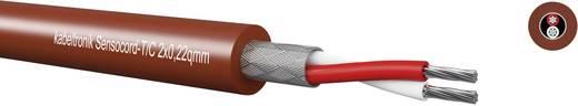 Kabeltronik 244C32200 Sensorkabel Sensocord® 3 x 0.22 mm² Rood-bruin Per meter