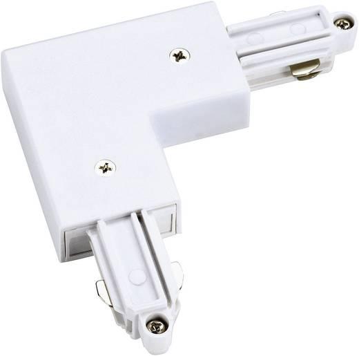 SLV Hoekverbinder voor 1-fase HS-stroomrails 143061 Wit
