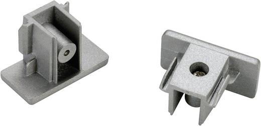 SLV 143132 230V-railsysteemcomponenten Eindstuk Set van 2 1-fasig Zilver-grijs