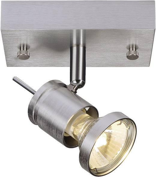 halogeen gu10 75 w slv asto spot i aluminium geborsteld