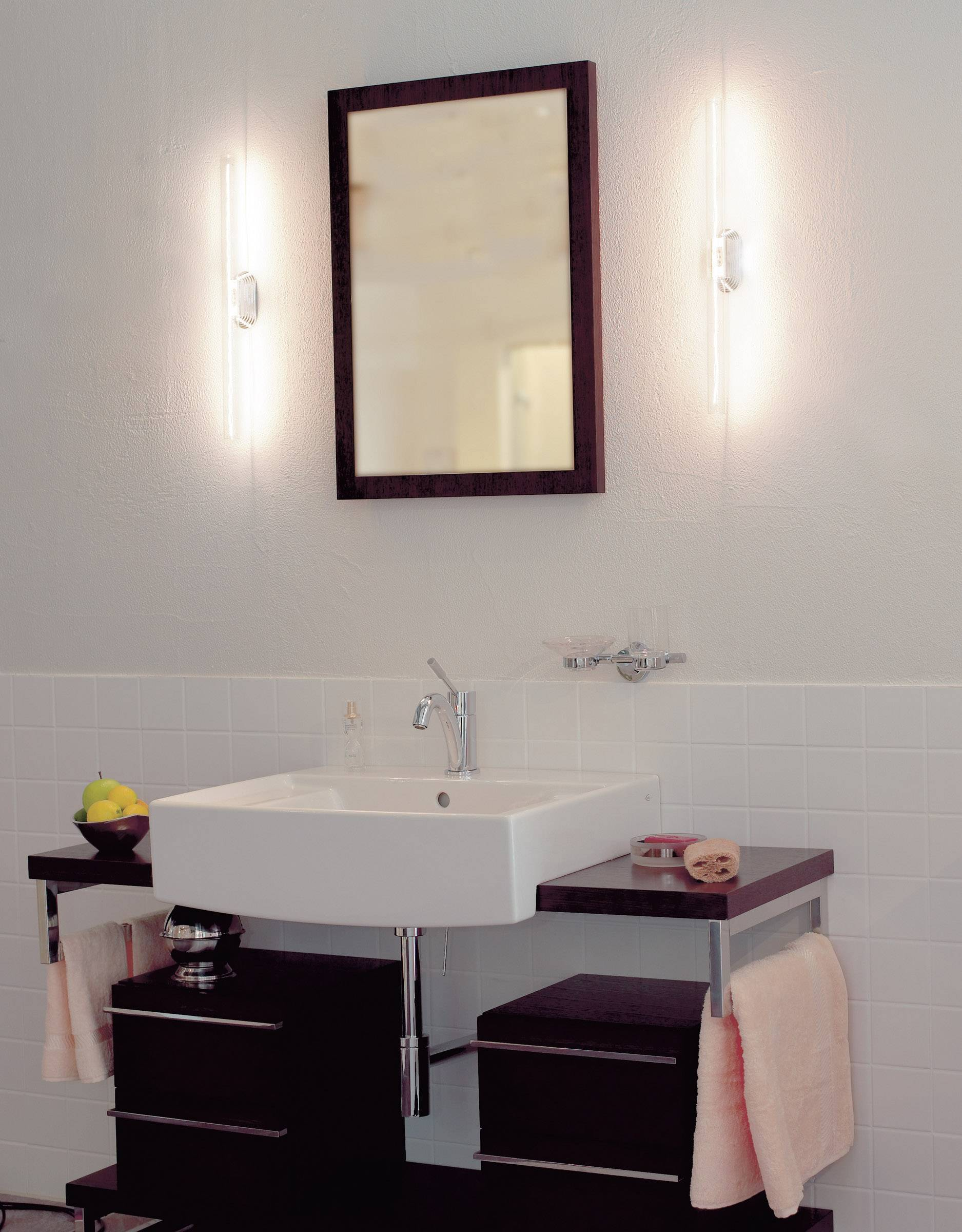 Slv 160702 Wandlamp Voor Badkamer 60 W Chroom Conrad Be