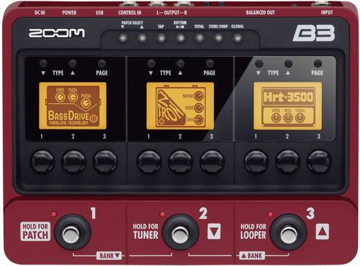 Zoom B3 Baseffect Multi-effect
