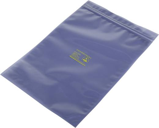 ESD-zakje (l x b) 300 mm x 200 mm Afschermend ESD-codeletter S Hersluitbaar