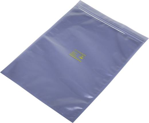 ESD-zakje (l x b) 350 mm x 250 mm Afschermend ESD-codeletter S Hersluitbaar