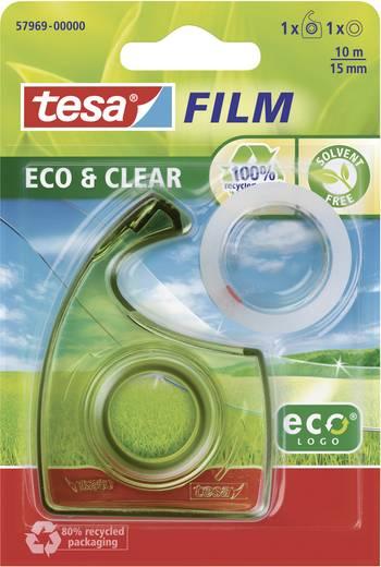 tesa tesafilm Transparant (l x b) 10 m x 15 mm Inhoud: 1 rollen