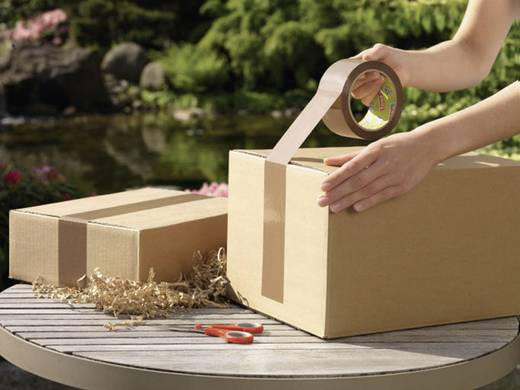 TESA Pakband Bruin (l x b) 66 m x 50 mm Inhoud: 1 rollen
