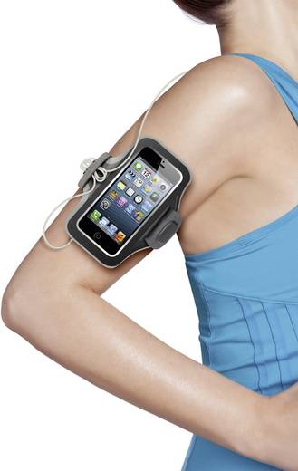 Belkin Sportarmband iPhone armband Geschikt voor model (GSM's): Apple iPhone 5, Apple iPhone 5S, Apple iPhone SE Zwart