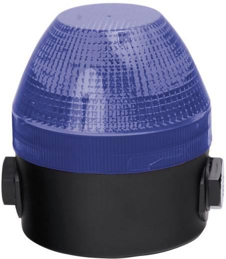Auer Signalgeräte NES Signaallamp Blauw Blauw Continu licht, Knipperlicht 24 V/DC, 24 V/AC, 48 V/DC, 48 V/AC