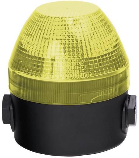 Auer Signalgeräte NES Signaallamp Geel Geel Continu licht, Knipperlicht 24 V/DC, 24 V/AC, 48 V/DC, 48 V/AC
