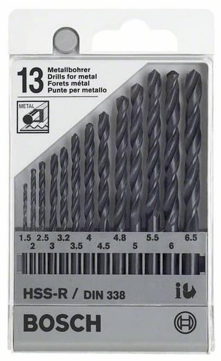 Bosch Accessories 1609200201 HSS Metaal-spiraalboorset 13-delig rollenwals Cilinderschacht 1 set