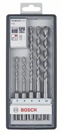 Bosch Accessories 2607019932 Carbide Hamerboor set 5-delig 6 mm, 6 mm, 8 mm, 8 mm, 10 mm SDS-Plus 1 set