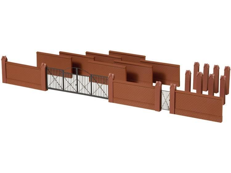 Auhagen 41622 H0 omheining met poorten