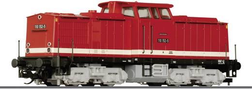 Tillig TT 01425 TT startset diesellocomotief BR 110 met personentrein van de DR