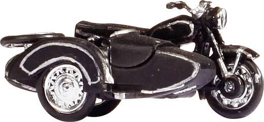 H0 BMW motorfiets R60 met zijspan