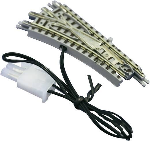 Z Rokuhan rails (met ballastbed) 7297022 Wissel, Elektrisch, Links 55 mm