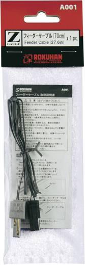 Z Rokuhan rails (met ballastbed) 7297408 Aansluitkabel 70 mm