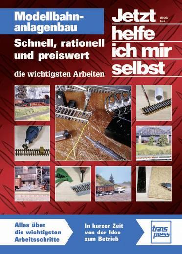 Modellbahnanlagenbau - Schnell, rationell und preiswert - die wichtigsten Arbeiten Ulrich Lieb Aantal pagina's: 144 bla