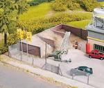 H0 Zandopslag voor cementfabriek Main-Beton