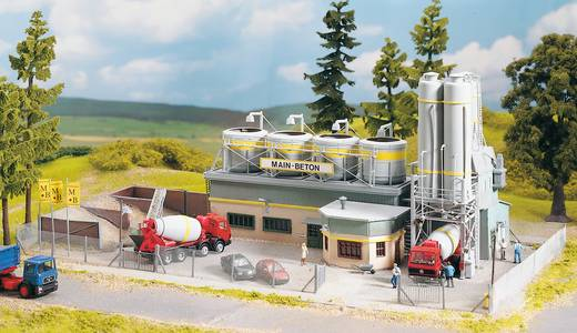 Piko H0 61133 H0 Hekwerk voor cementfabriek Main-Beton