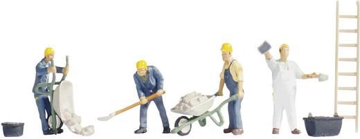 NOCH 15055 H0 figuren bouwvakkers