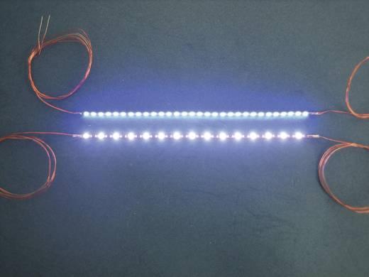 Lichtketting Permanent licht Blauw Mayerhofer Modellbau 80014