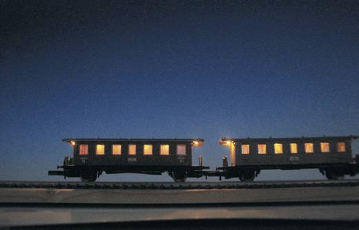 Mayerhofer Modellbau 71872 Z-wagon-interieurverlichting 45 mm, 5 leds Flikkerloos