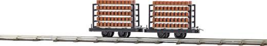 Busch 12203 H0f baksteentransportwagens Gelijkstroom (DC)<