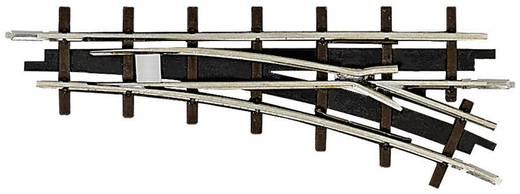 Busch 12342 H0f veldbaan rails Wissel, Rechts 66.6 mm 1 stuks