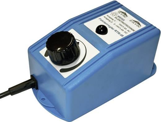 Modelspoor-transformator, regelbaar, infrarood