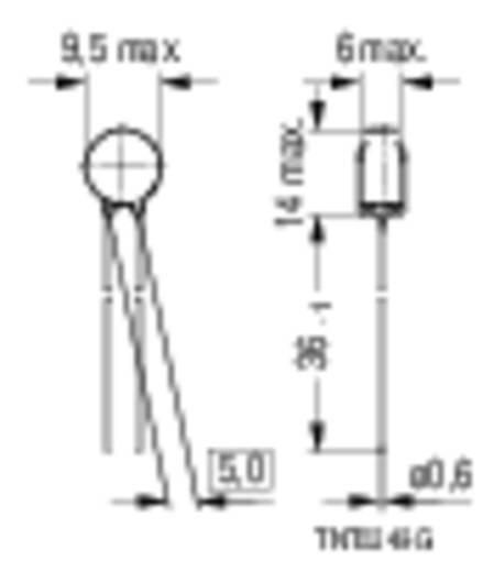 Epcos B57235S509M NTC-thermistor S235 5 Ω 1 stuks