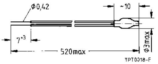PTC-thermistor 100 Ω Epcos B59100-M1100-A70 1 stuks
