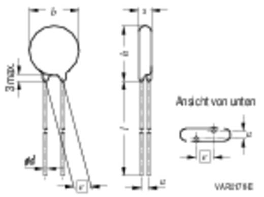 Schijfvaristor S10K460 750 V Epcos S10K460 1 stuks