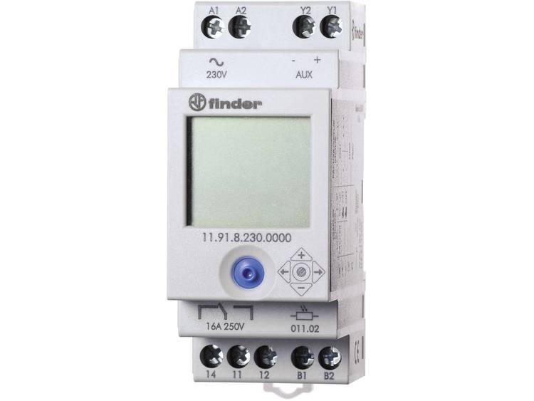 Schemerschakelaar Finder 11.91.8.230.0000 2 150 lx 230 V-50 60 Hz 1 wisselaar-1 uitgang voor de aans