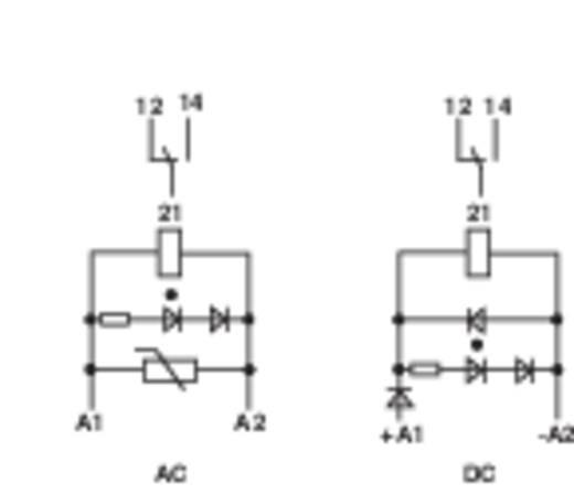 Finder 49.61.8.012.0060 Relaismodule 1 stuks Nominale spanning: 12 V/AC Schakelstroom (max.): 16 A 1x wisselaar