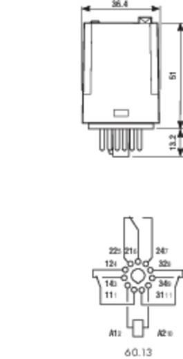 Finder 60.13.8.012.0040 Steekrelais 12 V/AC 10 A 3x wisselaar 1 stuks