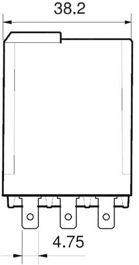 Finder 62.33.9.012.0040 Steekrelais 12 V/DC 16 A 3x wisselcontact 1 stuks
