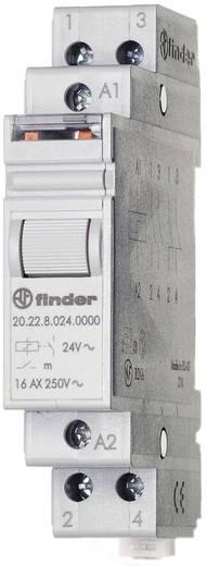 Finder 20.22.8.012.4000 Stroomstootschakelaar DIN-rail 1 stuks 2x NO 12 V/AC 16 A 4000 VA