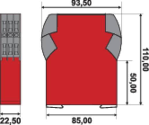 Bewakingsrelais 550 - 180 V/AC 2x wisselaar 1 stuks