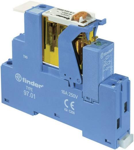 Finder 4C.01.9.012.0050 Relaismodule 1 stuks Nominale spanning: 12 V/DC Schakelstroom (max.): 16 A 1x wisselaar