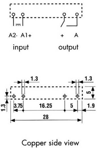 Finder 34.81.7.024.9024 Halfgeleiderrelais 1 stuks Laadstroom (max.): 2 A Schakelspanning (max.): 24 V/DC