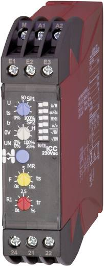 Hiquel ICC 230Vac Bewakingsrelais 2x wisselaar 1 stuks