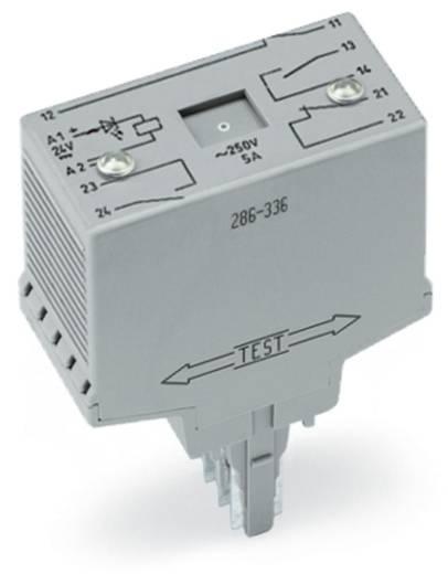 WAGO 286-336/001-000 Steekrelais 24 V/DC 2x NC, 2x NO 10 stuks