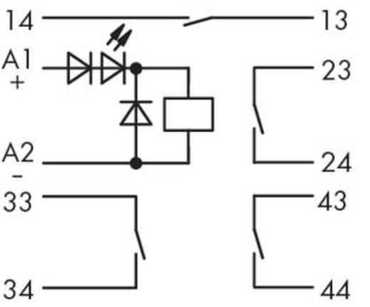 WAGO 286-352 Steekrelais 24 V/DC 5 A 4x NO 1 stuks
