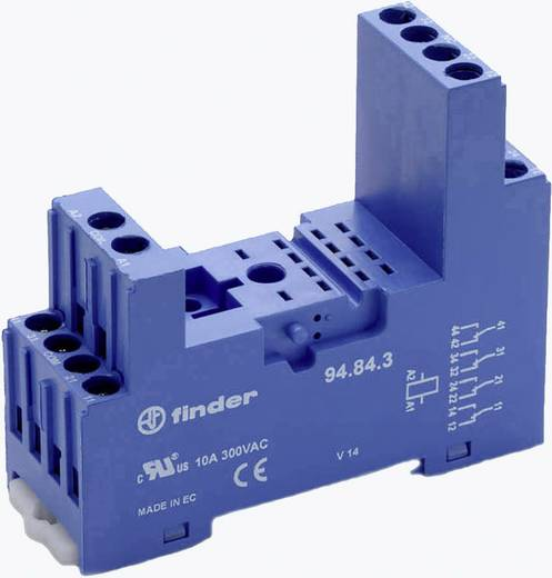 Finder 94.84.3 Relaissocket 1 stuks Finder serie 55
