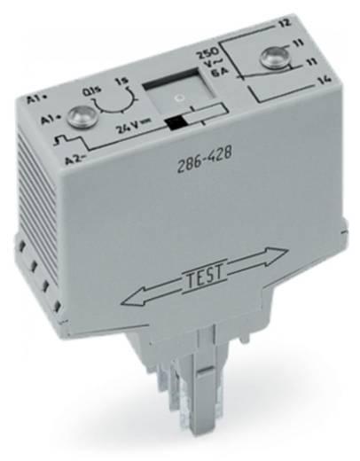 WAGO 286-427 Steekrelais 24 V/DC 6 A 1x wisselaar 1 stuks